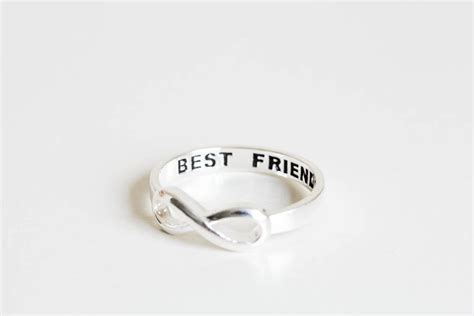 infinity ring best friends best friend infinity ring best friends ring infinity ring