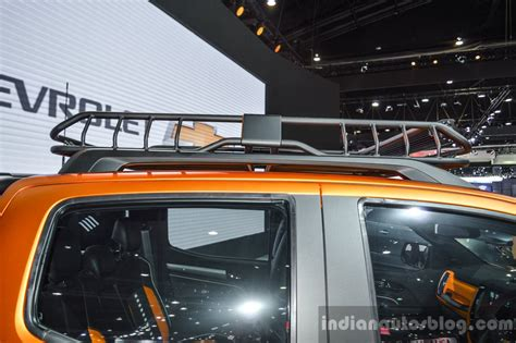 Chevy Colorado Roof Rack by Chevrolet Colorado Xtreme Roof Rack At 2016 Bims Indian Autos