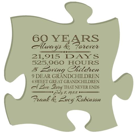 60th Wedding Anniversary by Gifts For Anniversary We And For On
