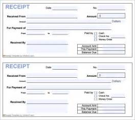 Blank Receipt Templates Simple Receipt Template 7 Free Download For Pdf