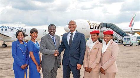 emirates zambia emirates signs zambia deal