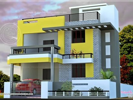 South Indian Style New Modern 1460 Sq House India House Plan 2185 Sqft Kerala Home Design And Floor