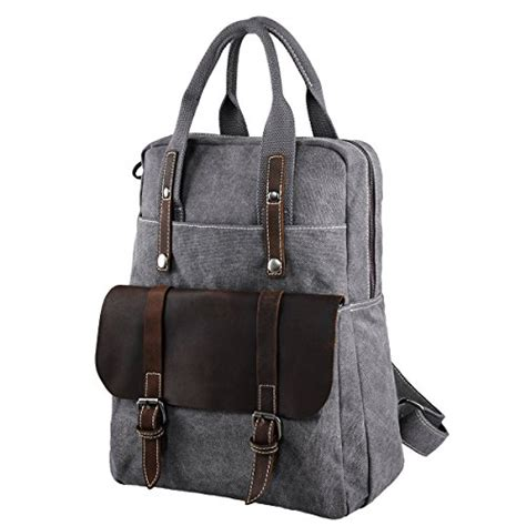 Travel Backpack Handbag Laptop Bag D8180wa 15 6 Inch Black 1 s zone canvas genuine leather travel school bags 15 6 inch