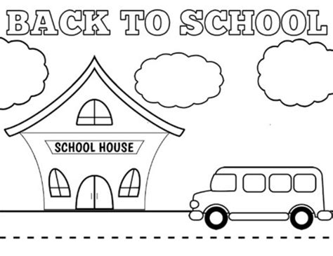 printable coloring pages school free printable back to school coloring sheets