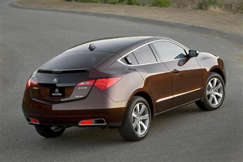 2010 acura zdx the four door crossover sport coupe