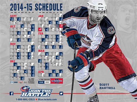 printable blue jackets schedule nhl columbus blue jackets schedule printable jackets in