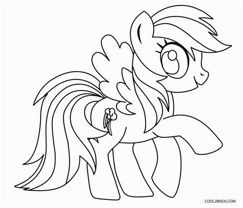 my little pony coloring pages of rainbow dash free printable my little pony coloring pages for kids