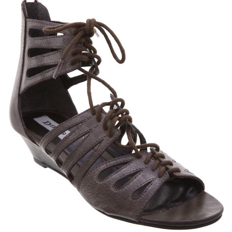 low gladiator sandals new dune might womens leather low wedge gladiator