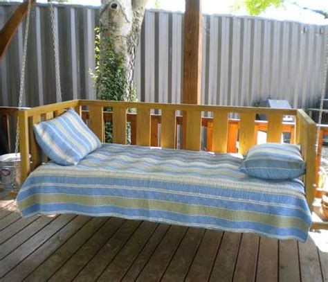 twin bed swing plans stephen wood project more twin bed woodworking plans