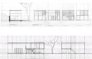 eames house section eames house drawings 791 215 507 pixels quot design is a plan