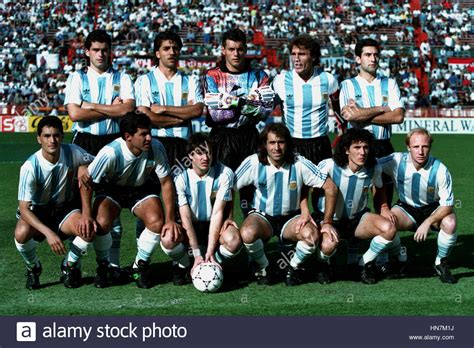 argentina fc team 1993 94 13 january 1994 stock