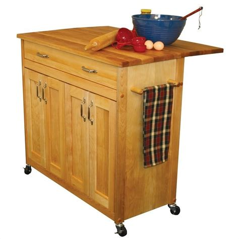 catskill craftsmen mid sized kitchen island 51538