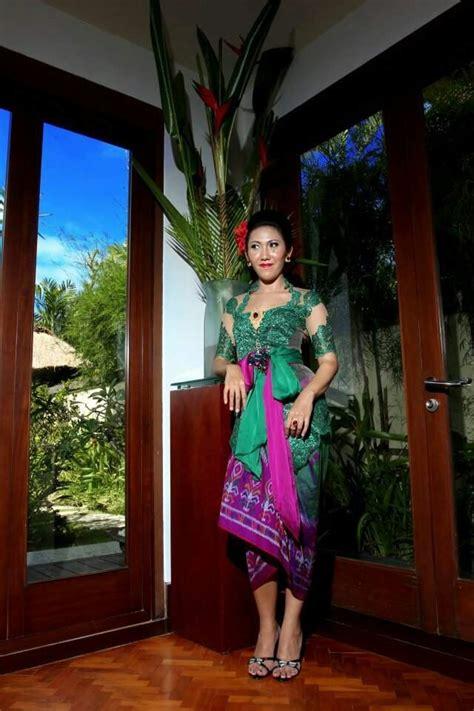 Kebaya Bali Brokat Bali 4 42 best images about kebaya with belt or obi on balinese modest wedding dresses