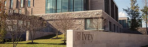 Western Ivey Executive Mba by Pre Ivey Experiences Ivey Business School