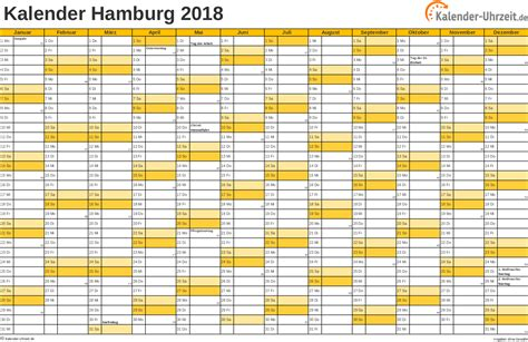 Kalender 2018 Mit Feiertagen Hamburg Feiertage 2018 Hamburg Kalender