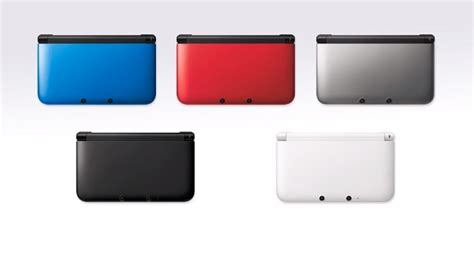 new 3ds xl colors nintendo announces three new 3ds xl designs coming to