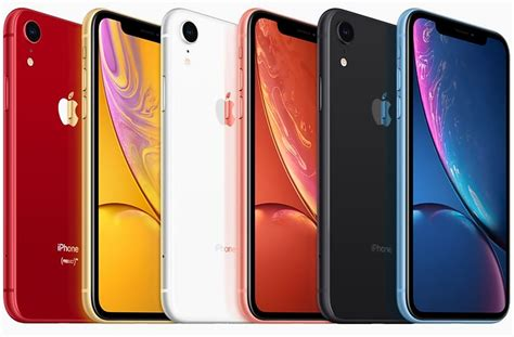 apple launches iphone xr with 6 1 inch liquid retina display a12 bionic soc