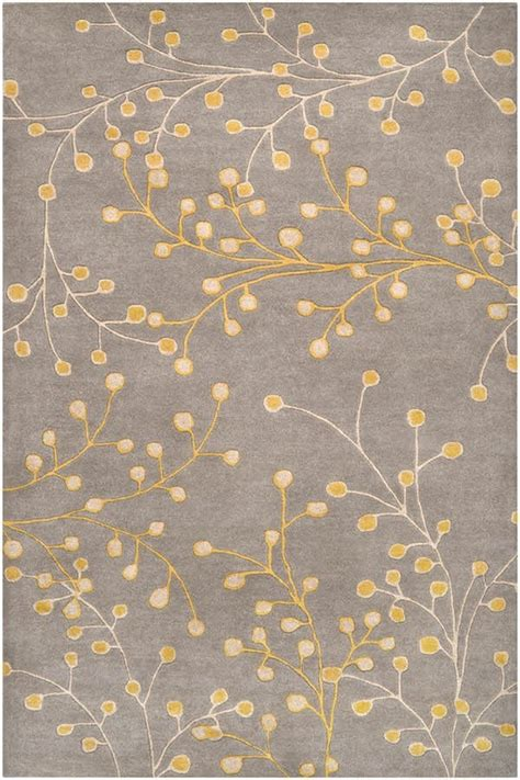 Yellow Gray Area Rug Surya Athena Ath 5060 Rugs Rugs Direct