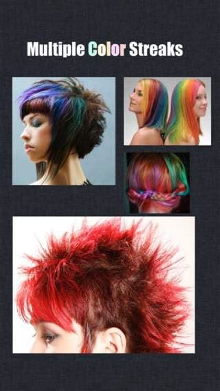 color hair changer hair color changer apps hair color trends