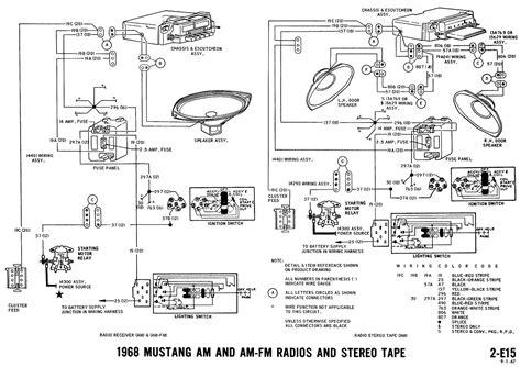 05 ford mustang wiring diagram 1968 mustang wiring diagrams evolving software