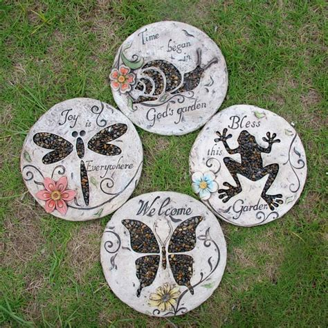 Decorative Garden Stepping Stones by Get Cheap Garden Stepping Stones Aliexpress