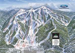southern california ski resorts map snow summit trail map