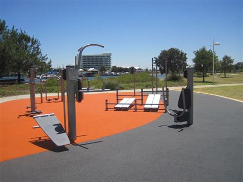 backyard gym equipment outdoor gym at keith holmes reserve mandurah local places to visit pinterest