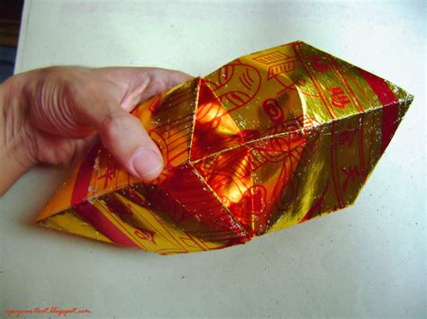 How To Fold Joss Paper - folding thnee kong half a pound of treacle