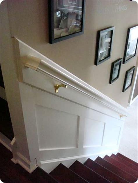 Stair Railing Wall Best 25 Stairway Walls Ideas On Stair Wall