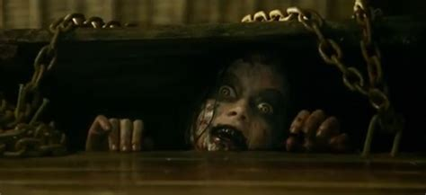 new movie evil dead trailer not another peep in evil dead red band trailer