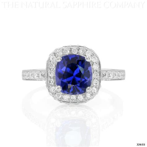 cushion cut cushion cut and sapphire