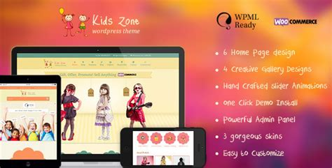 themeforest zoneshop 15 great baby wordpress themes the design hill