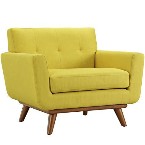 Upholster Armchair by Engage Upholstered Armchair With Wooden Legs