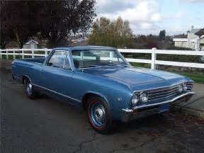 1967 Chevrolet El Camino 1967 Chevrolet El Camino Barrett Jackson Auction