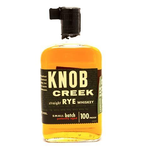 knob creek small batch rye whiskey 750ml