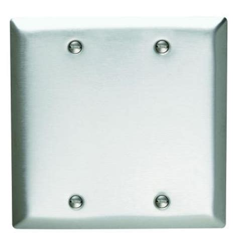 2 blank wall plate stainless steel sl23cc5 the