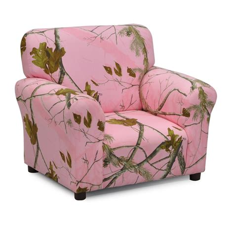 kids pink camo recliner realtree camo furniture realtree pink kids club chair