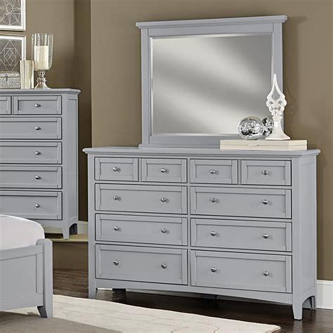 Vaughan Bassett Dresser by Vaughan Bassett Bonanza Dresser Landscape Mirror