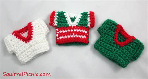 crochet pattern ugly christmas sweater ugly christmas sweater crochet pattern for your squirrel