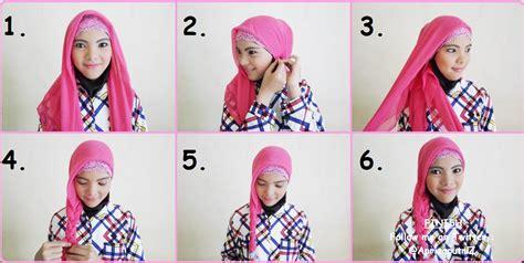 tutorial hijab ayyih apriza putri zulfiani