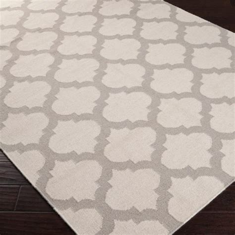 Gray Moroccan Rug by Frontier Moroccan Ivory Gray Woven Wool Rug Look 4 Less