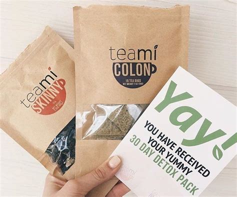30 Day Detox Tea by 30 Day Tea Detox Pack By Teami 187 Gadget Flow