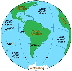 where is easter island on a world map easter island