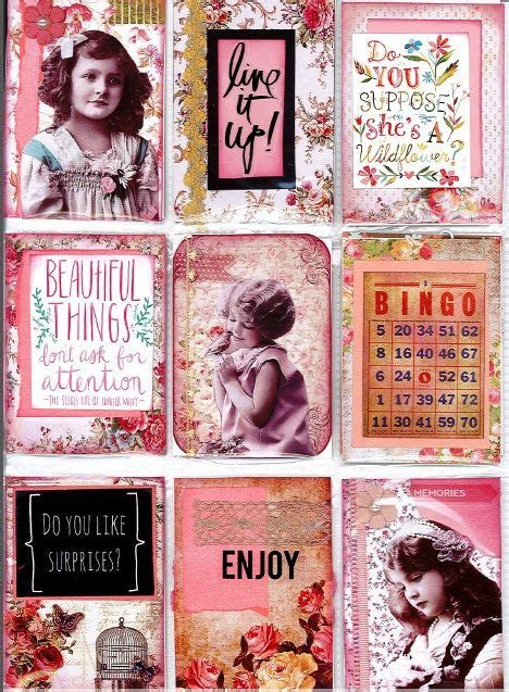 Heidi Swapp Photo Flip Book Hello Bahan Scrapbook Explosion Box 217 best images about atc pocket letters 2 on
