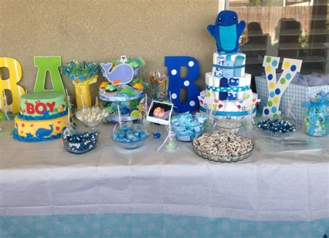Ahoy Baby Boy Baby Shower by