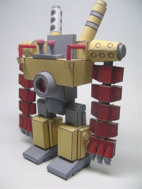 Mechanical Papercraft - 17 best images about robots on toys paper and