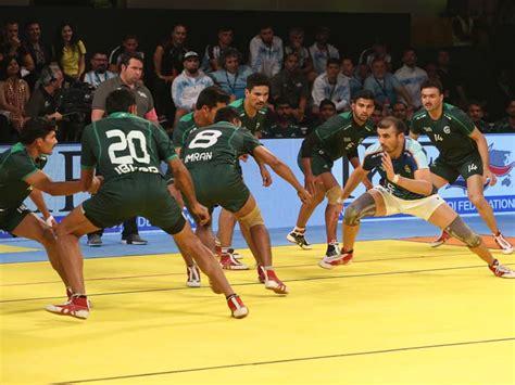 kabaddi masters dubai 2018 india beat pakistan 41 17