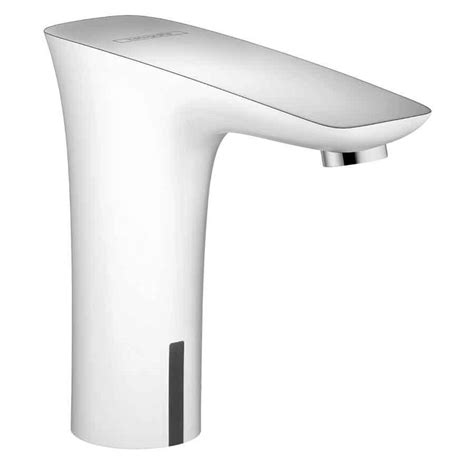 shop hansgrohe puravida white chrome touchless single