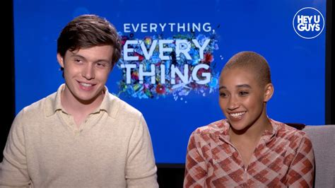 everything everything everything everything exclusive interviews with the cast