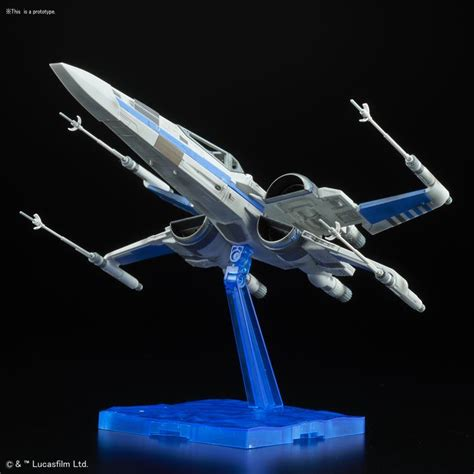 1 72 X Wing Resistance Blue Squadron wars 1 72 blue squadron resistance x wing fighter the last jedi model kit